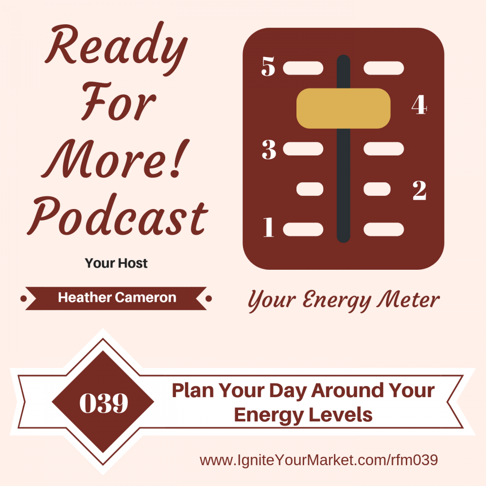 Plan Your Day Around Your Energy Levels – RFM039